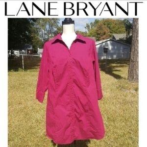 Lane Bryant Button Down Dress Shirt
